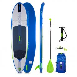 The Jobe Leona 10.6 Inflatable Paddle Board Package is the new addition to the 2021 collection. This new SUP board has the high quality that you can expect but for a more attractive price!