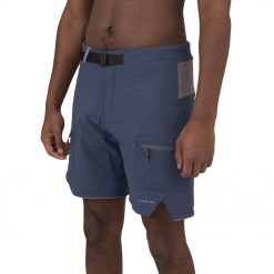 Built for multiple days on the water these shorts define rugged, toughness, and style. Perfect for being in and out of the water and features quick drying nylon stretch fabric, meshed zipper side pockets and a integrated belt.