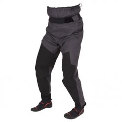 The Surge is a 3-season lightweight dry pant. Constructed from a blend of our eXhaust 2.5 and eXhaust 3.0 waterproof breathable nylon fabrics. High wear areas like the knee and seat panels use eXhaust 3.0 for added durability and low wear areas feature our eXhaust 2.5 for more lightweight breathability.