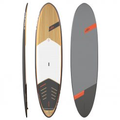 """Our team board appears again as huge as usual! With 17' of length and 65"""" of width, this board was redesigned with a 6"""" Triple Layer Composite Drop Stitch to decrease its weight."""