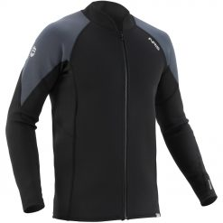 The NRS Men's Ignitor Jacket gives recreational boaters a basic but versatile option for immersion protection.