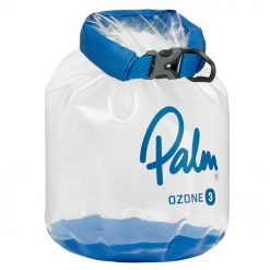 Transparent roll down drybags that make it easy to identify what's inside.