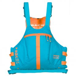 Designed for paddlers looking for a low profile, high performance fit but with plenty of storage and hydration options including a rear h2o bladder pocket and a front pocket large enough to fit a drinks bottle with stiff straw.