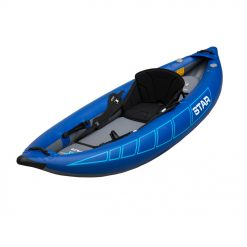 The STAR Raven I Pro Inflatable Kayak is a playful performance IK for river running fun.