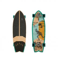 The STREET 31 offers a short and wide deck range that is specially designed for smaller to medium size skaters. Built with 5+2 layers (rock maple and Canadian Maple Wood), this board is durable yet budget friendly.