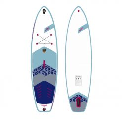 Originated from two popular sizes from our AllroundAir and CrusAir ranges, the Venus line comes in a beautiful and exciting color combination. These boards are perfect for cruising, touring, fitness and yoga. They provide all that is needed for a great time on the water.
