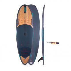 """It all started with water. The Jobe Vizela 9.4 is 32"""" wide giving it a large surface area making this bamboo beauty truly versatile and stable for surfers up to 100 kg."""