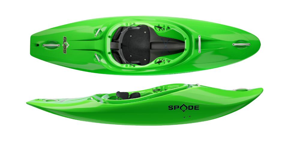 spade kayaks bliss boat half slice