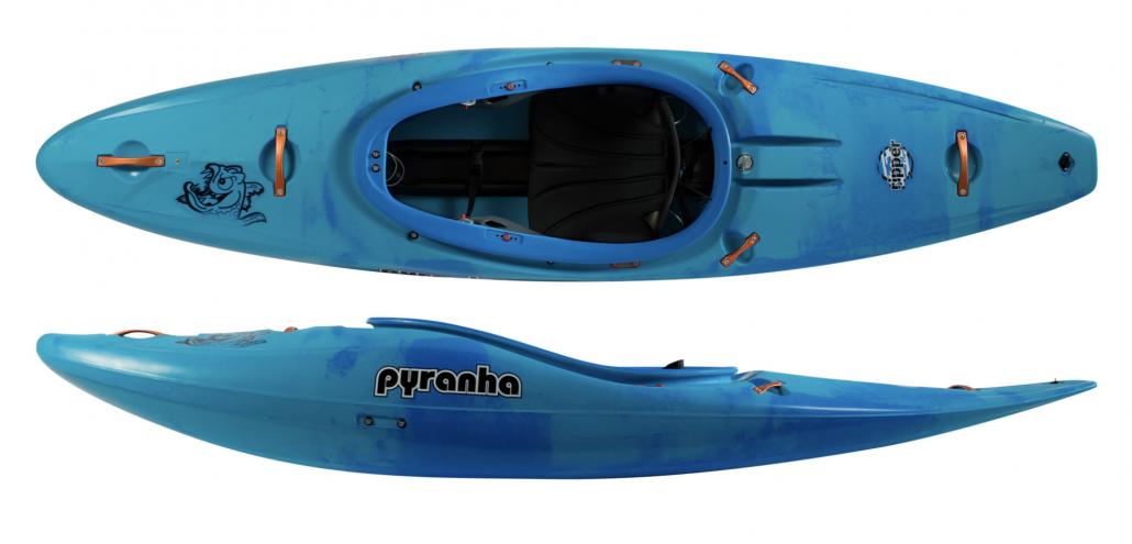 pyranha ripper half slice kayak