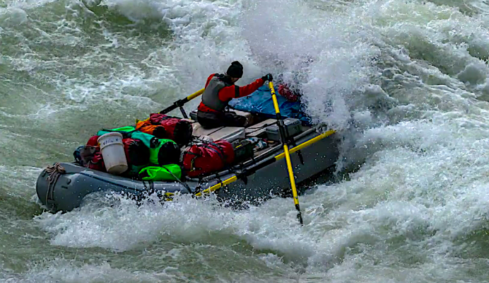 Grand Canyon, how to raft down the big rapids
