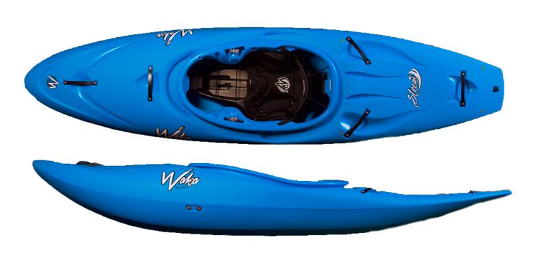 waka steeze by waka kayaks half slice boat