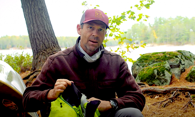 gear for canoe trip by ken whiting and paddle tv