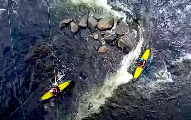 madawaska river guide series by paddle TV whitewater
