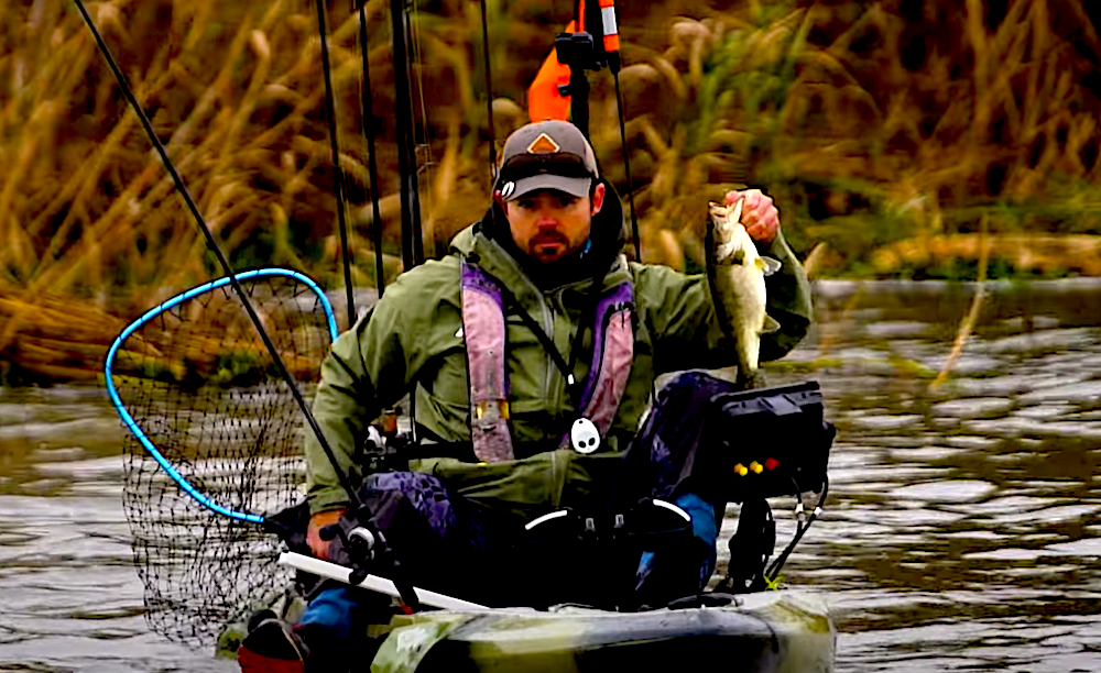 mike iaconelli kayak fishing hobie BOS review of the HOBIE BOS tournament at lake hartwell
