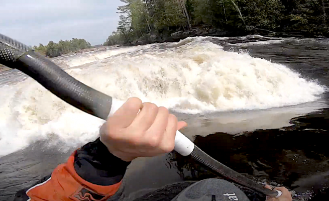 Seth Ashworth is back with a good tutorial on how to paddle through breaking waves and up your game on big water rivers, enjoy!