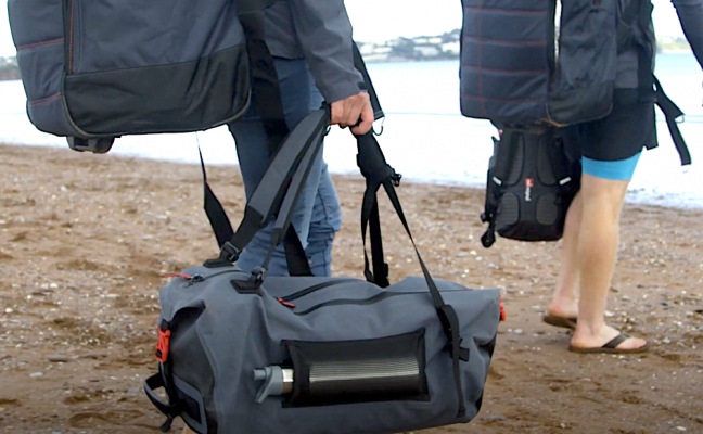 Red Paddle Co present us with their new 100% waterproof bag. The new product is part made from recycled plastic bottles and is the perfect companion for any number of outdoor adventures, activities, or trips away.