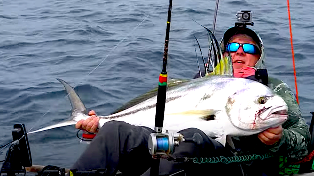 Follow Robert Field kayak fishing in a legendary part of Panama's southern coast called Morro Puerco. The fishing is on fire as he gets into huge swarms of mahi, giant roosterfish, intimidating cubera snapper and a surprise species!